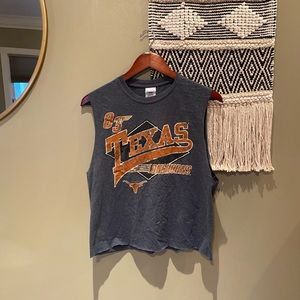 TEXAS LONGHORNS GRAPHIC 1983 TANK TOP GRAPHIC TEE